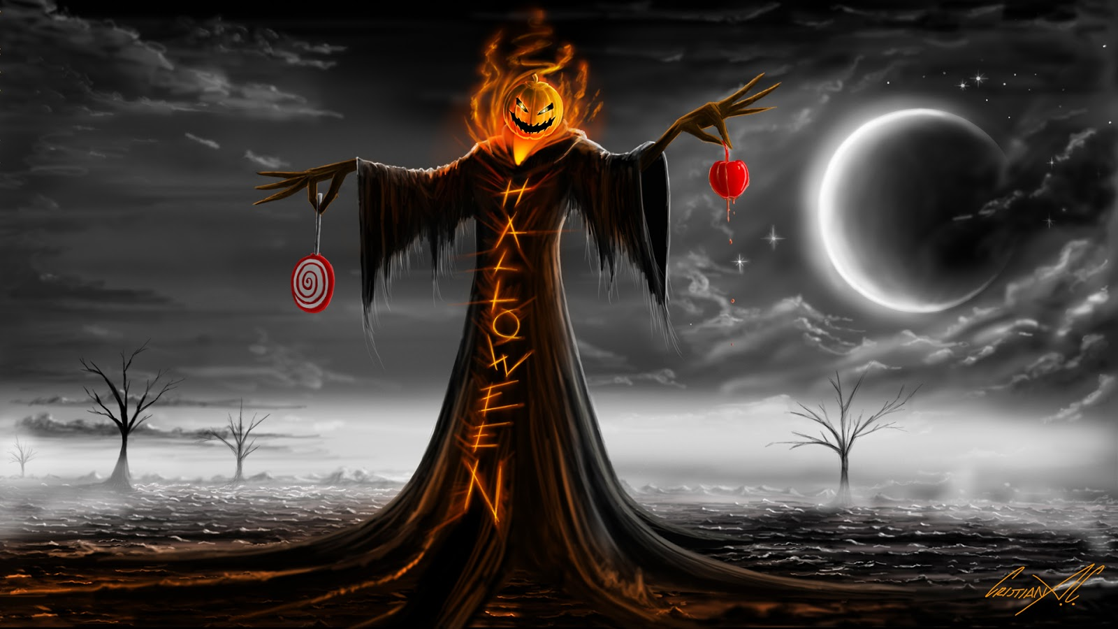 Pictures happy halloween 2012 wallpapers amazing funny beautiful nature travel and much - Funny happy halloween wallpaper ...