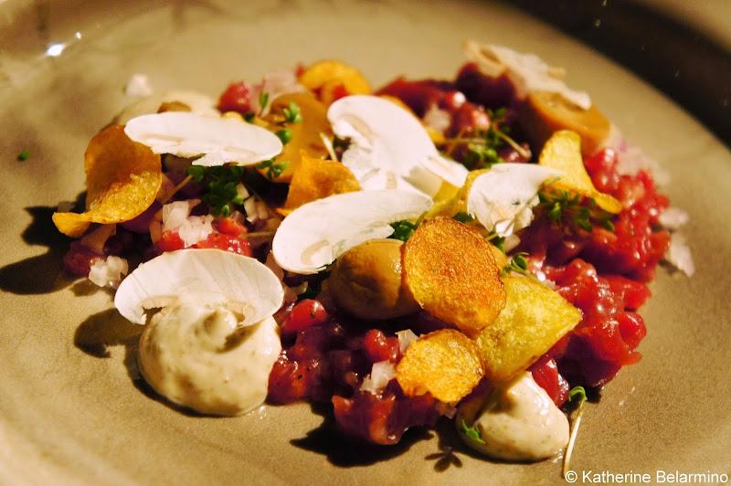 SK Mat & Människor Swedish Strip Loin Tartar Gothenburg Michelin Star Restaurant