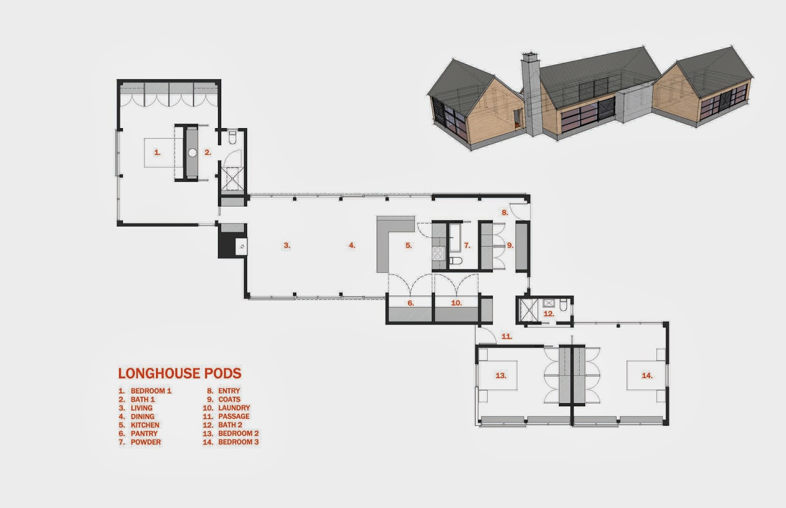 Longhouse for Modern long house plans