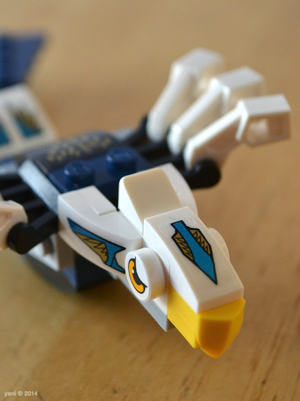 lego chima legend beast eagle - the eagle head