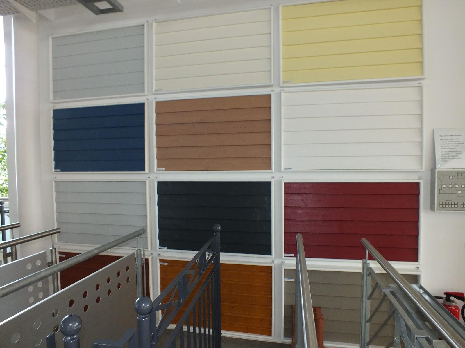Fenster Bad Undurchsichtig : Verschiedene Holzfassaden(farben) Eigentlich wollten wir das