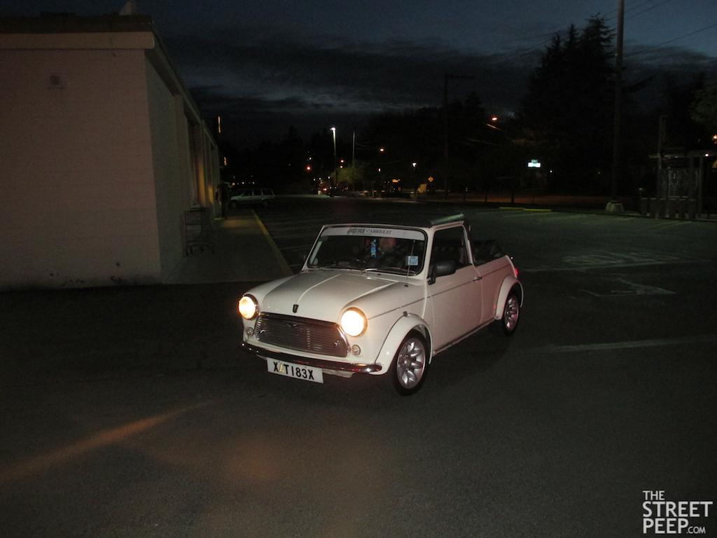 Mini 1968 mini cooper : THE STREET PEEP: 1968 Austin Mini Cooper Convertible Factory Prototype