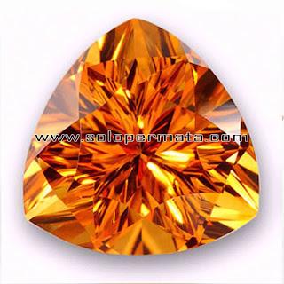 Artikel Batu Permata yellow Citrine   Kecubung Kuning