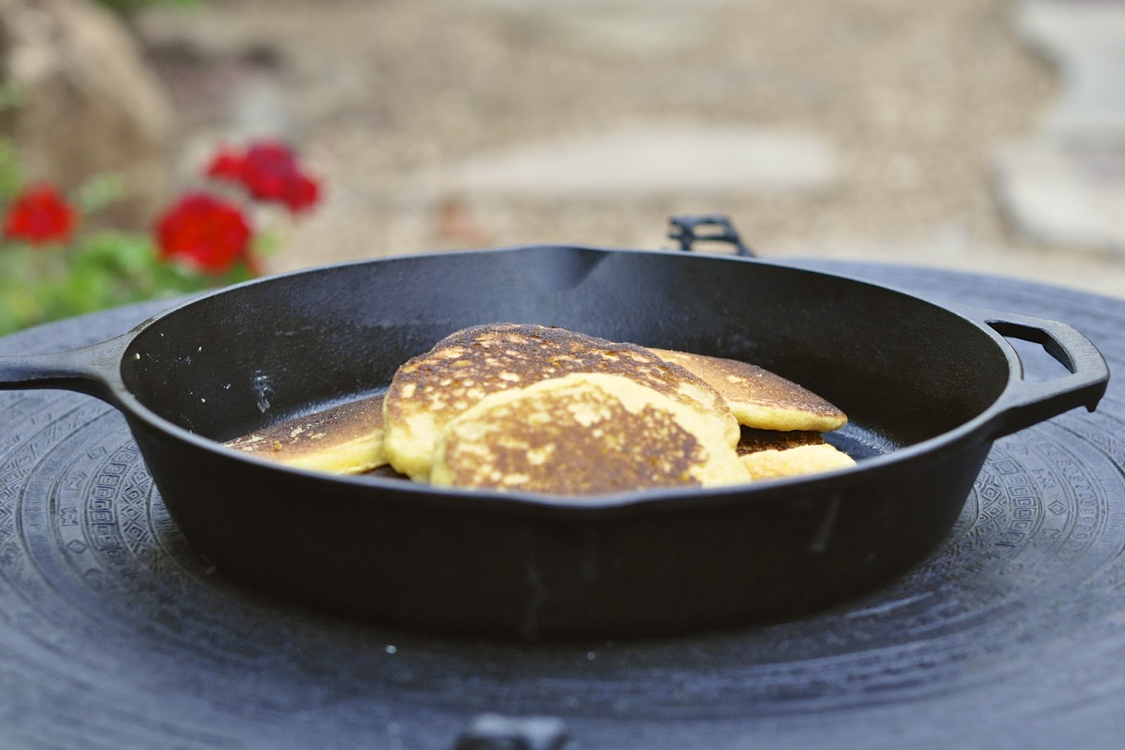 My Own Sweet Thyme: Cornbread Griddle Cakes