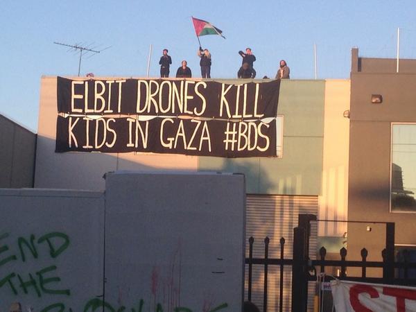 Quem faz negócios com a Elbit está matando o povo palestino