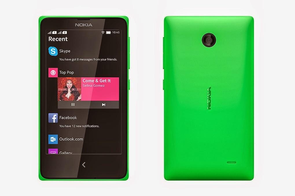 Spesifikasi Nokia X dan harga