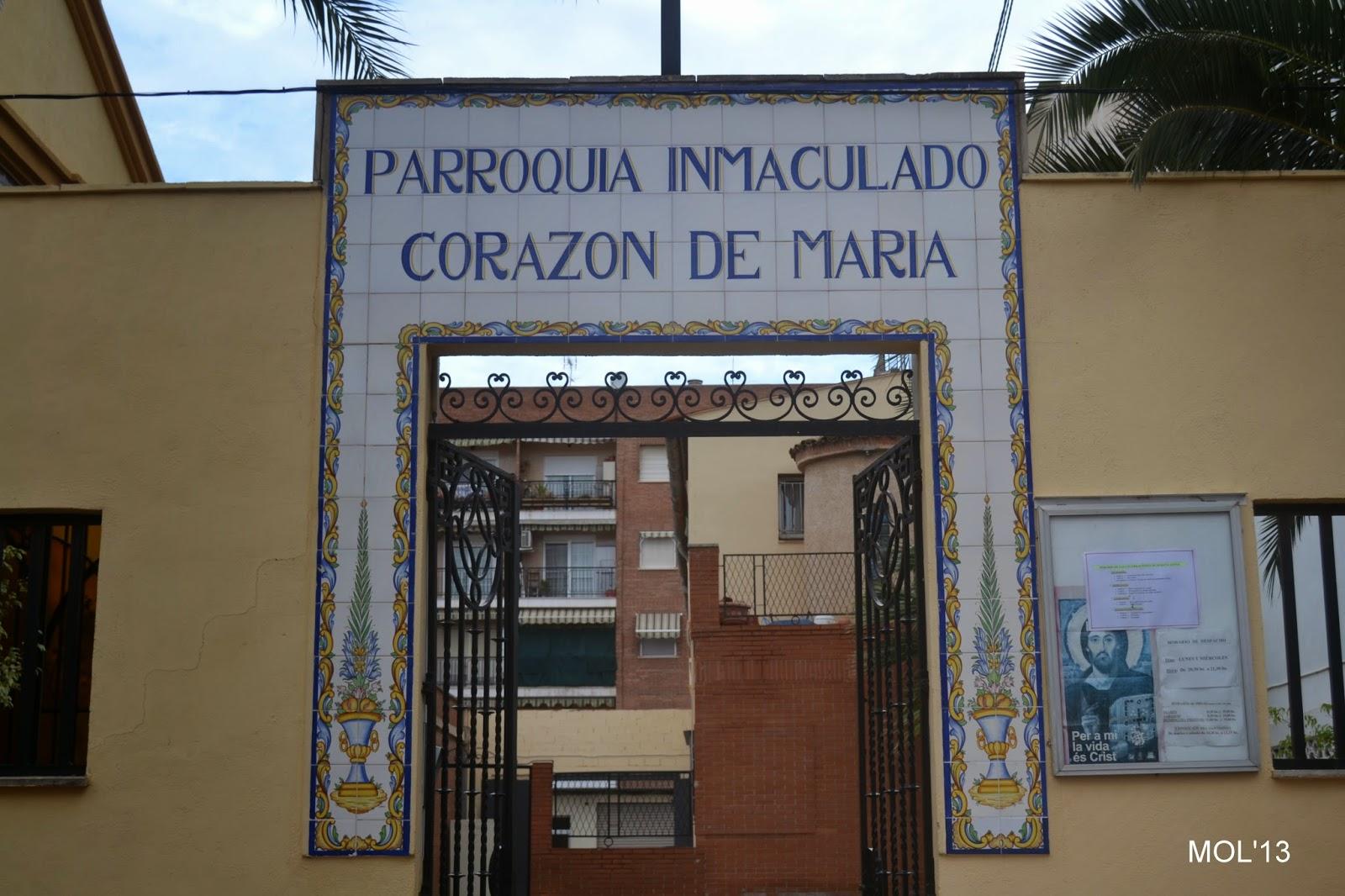 PARROQUIA DEL INMACULADO CORAZÓN DE MARÍA D MANISES