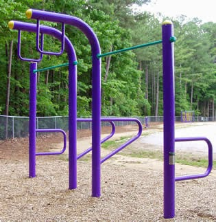 Image of Outdoor Fitness Corner Equipment