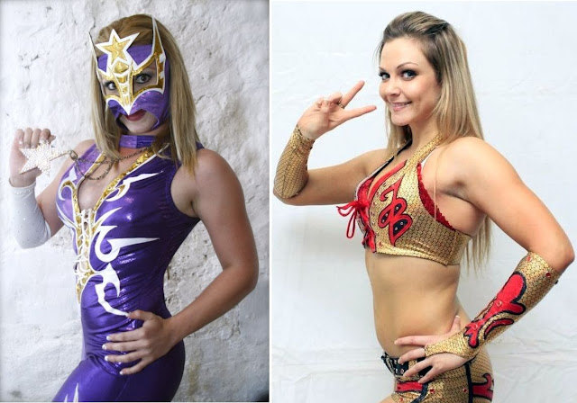 Sexy Star vs Jennifer Blake - YouTube Female Wrestling