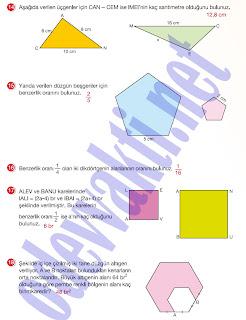 2012-2013 yılı 7. sınıf Matematik MEB Yayınları Çalışma ...
