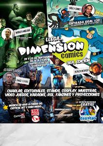 En 2012 fuì a una de las mejores convenciones de la Argentina: Dimensión Comics