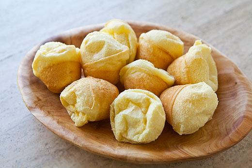 ... The World: Brazilian Cuisine-Pao de Queijo - Brazilian Cheese Bread