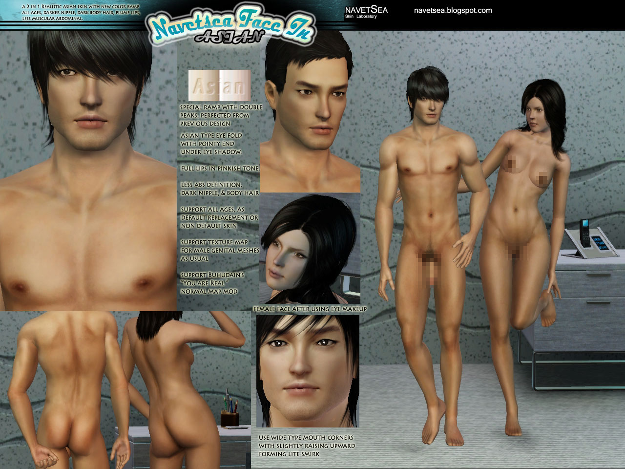 The sims 2 nude skins download anime scenes