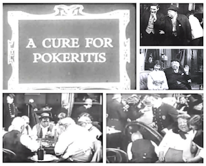 "A Cure for Pokeritis 1912  ""cinéma muet"" Acureforpokeritis"