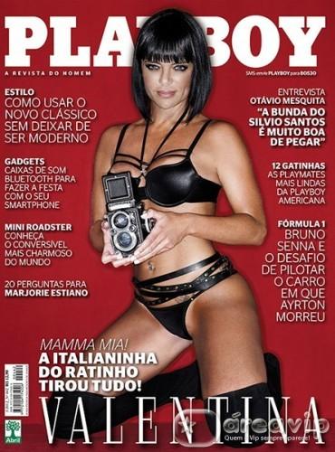 Capa Playboy - Março - 2012 - Valentina Francavilla