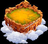 imagen de la quinta isla de dragon city