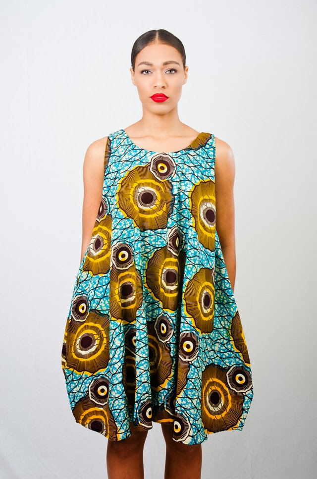 Robe en pagne by Asiyami Gold #africanprint