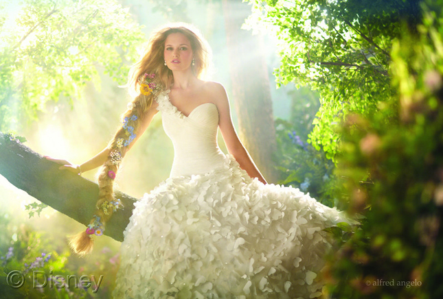Modern fairy tale princess wedding dresses part 2 for Fairy tale wedding dresses