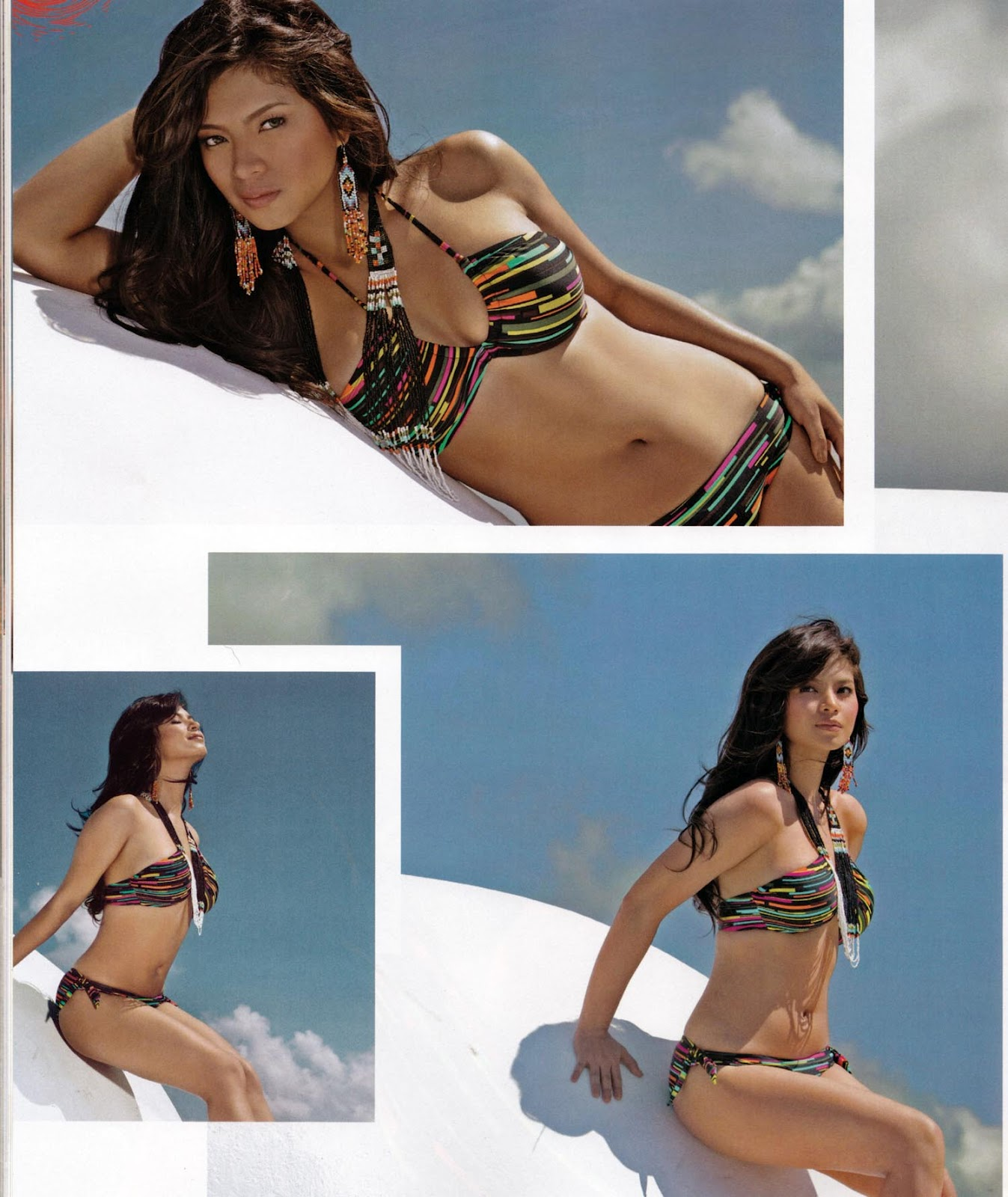 angel locsin sexy fhm bikini photos 03