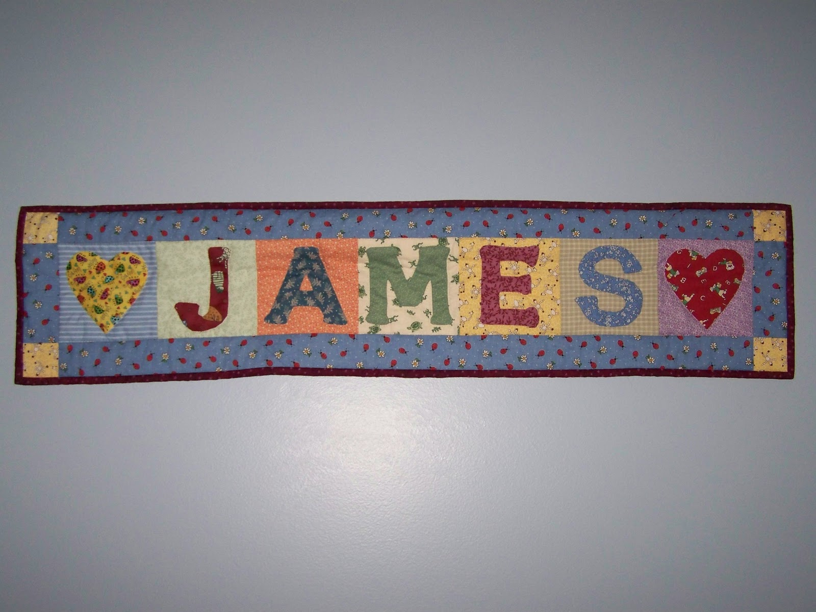 When Life Gives You Scraps Make Quilts Name Banner Quilts