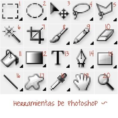 Welcome - Herramientas de photoshop ...