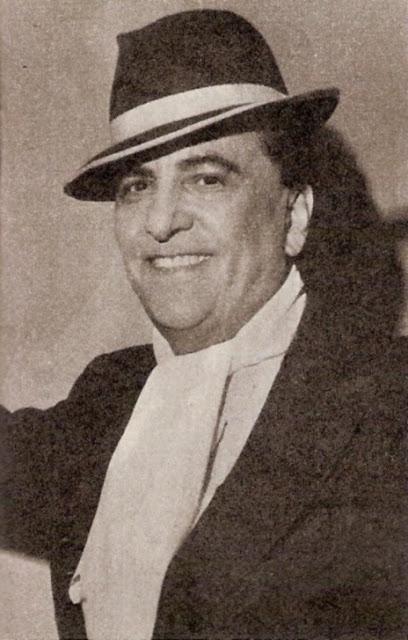 Hugo del Carril con sombrero