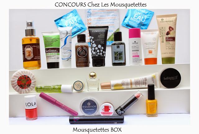 Concours Box Les Mousquetettes©