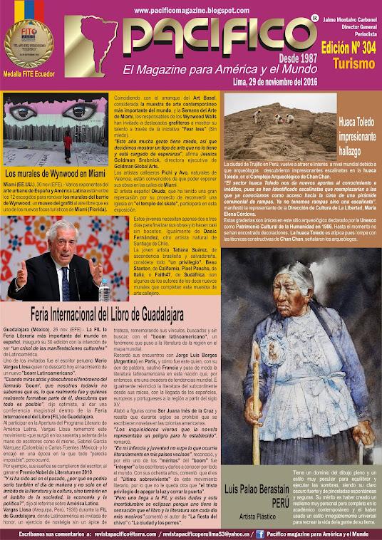 Revista Pacífico Nº 304 Turismo