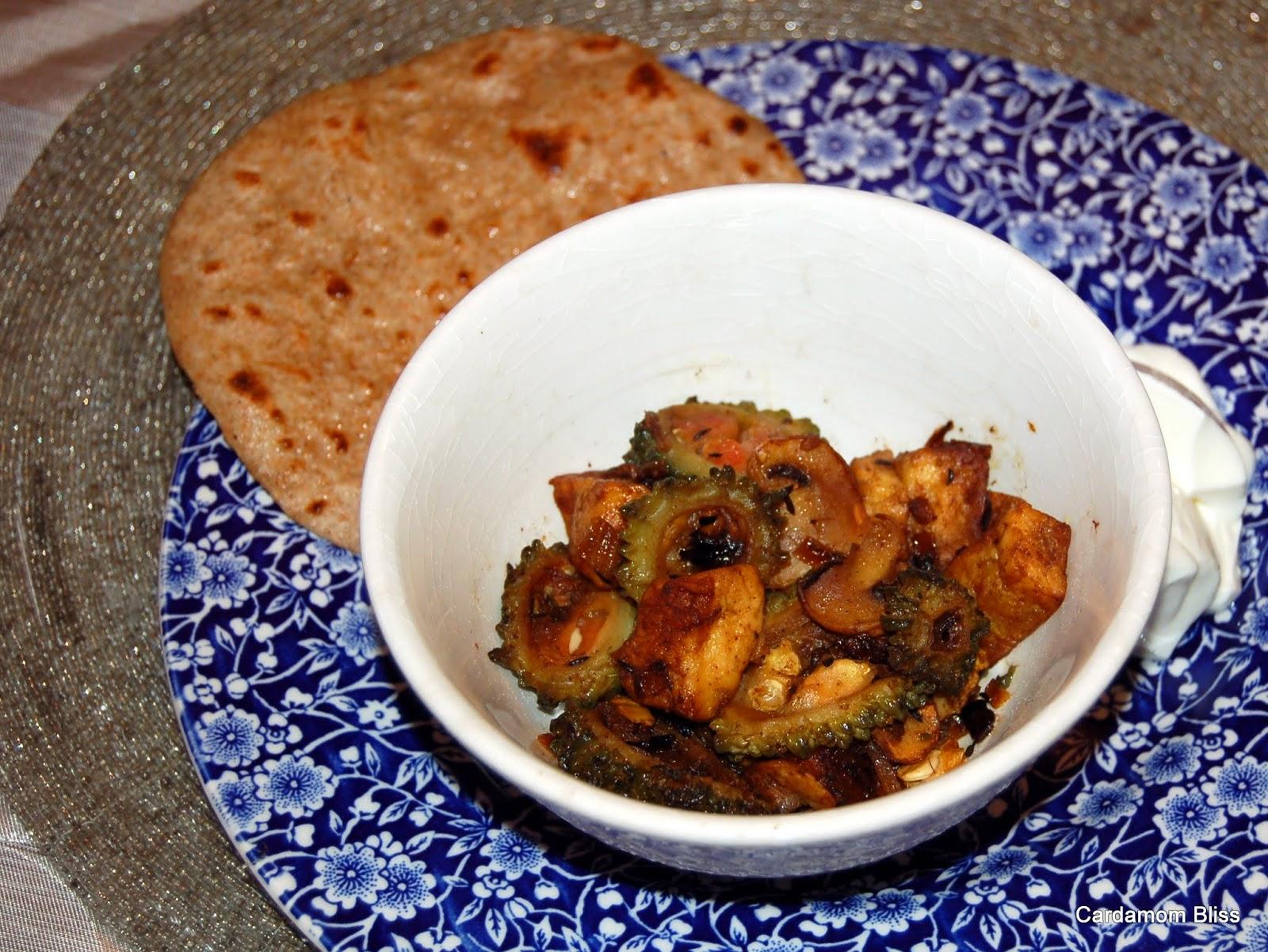 Kerela, mushroom and paneer masala