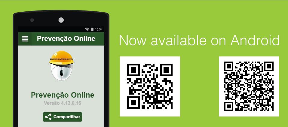 Nosso Aplicativo para Android.