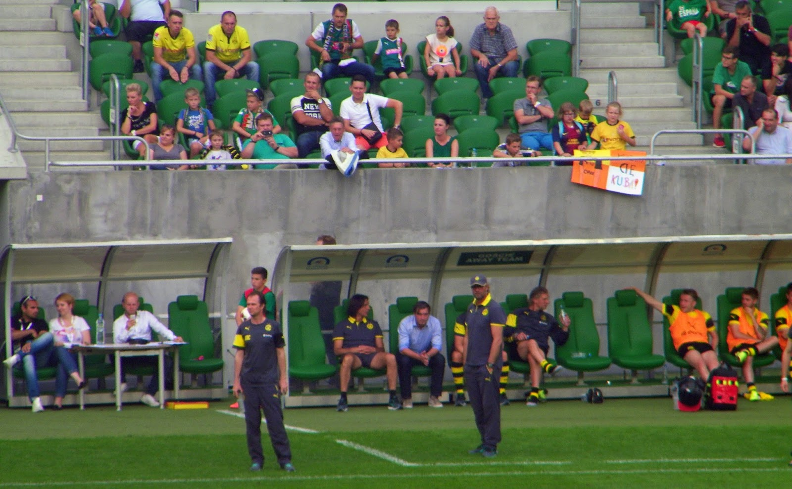 Mecz towarzyski BVB vs. WKS