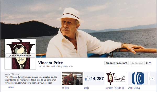 https://www.facebook.com/pages/Vincent-Price/117134628314119