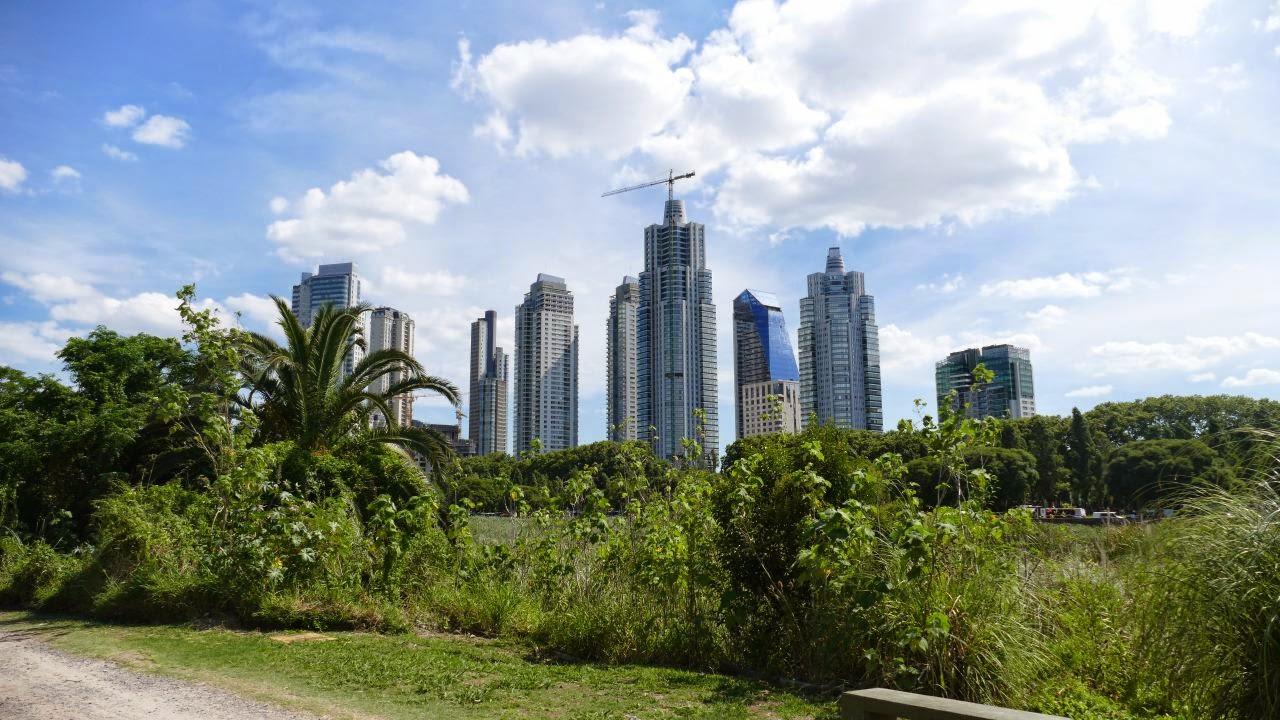 Buenos Aires zu Fuss erkunden - Skyline
