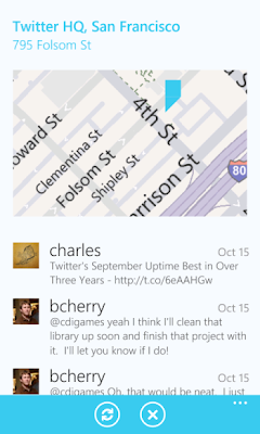 Native twitter app for windows phone 7