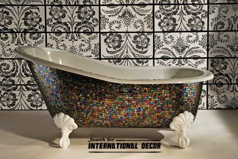 mosaic tile, mosaic tiles, mosaic art and designs,mosaic bathtub