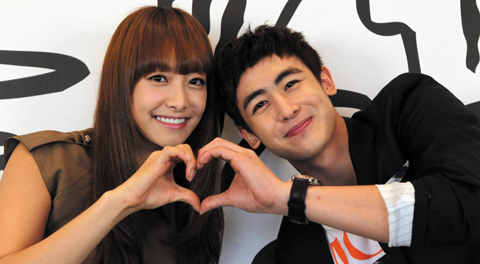is nichkhun and victoria dating