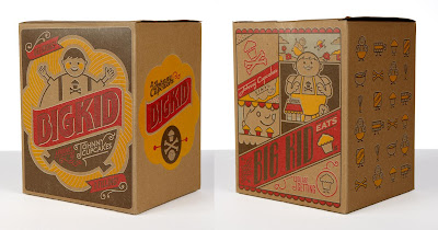 &#8220;Classic&#8221; Big Kid Vinyl Figure Packaging by Johnny Cupcakes