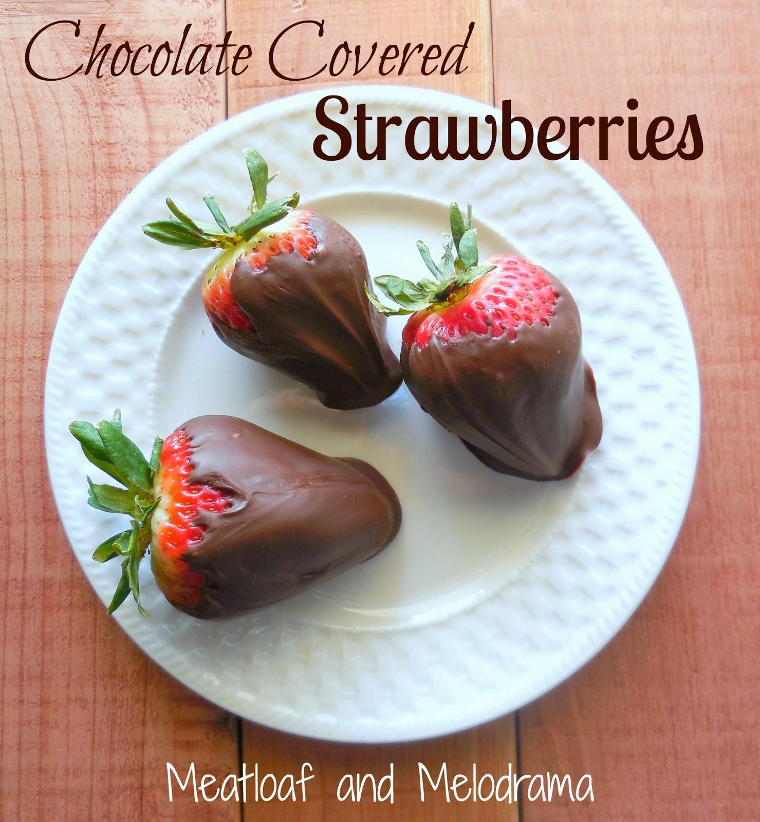 How Do U Make Chocolate Covered Strawberries At Home