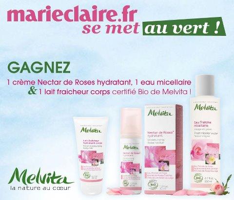 Gagnez la nouvelle gamme bio de Melvita