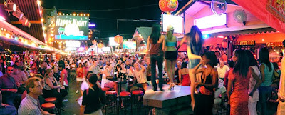Phuket nightlife at Patong Bangla Road