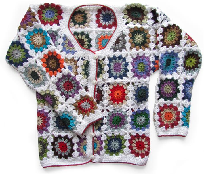 Crochet Granny Square Vest Pattern : Granny square VEST... eindelijk af! - Handwerkjuffie