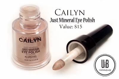 Cailyn Just Mineral Eye Polish by @unitedinbeauty