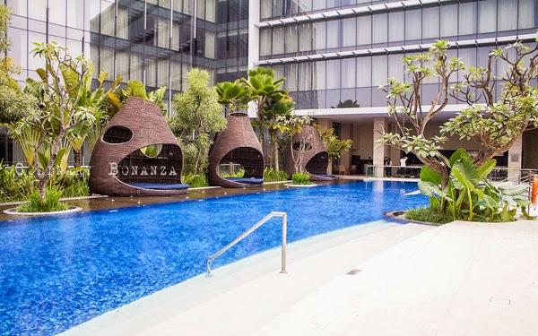 Pool at Hilton Bandung