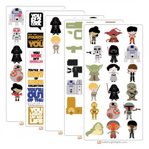 Star Wars, ilove2cutpaper, LD, Lettering Delights, Pazzles, Pazzles Inspiration, Pazzles Inspiration Vue, Inspiration Vue, Print and Cut, svg, cutting files, templates, Silhouette cutting machine, Brother Scan and Cut