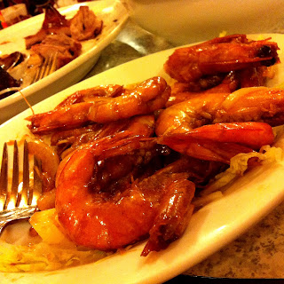 sautéed shrimps