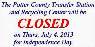 7-4 Transfer Station Closed