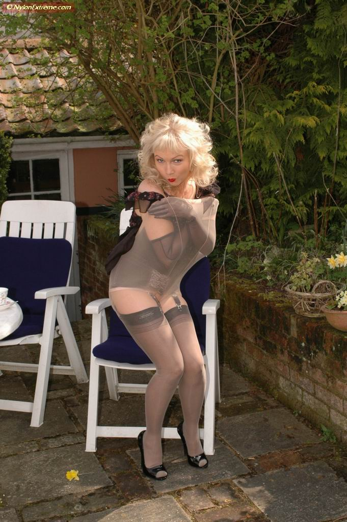 Sue galleries nylon stocking