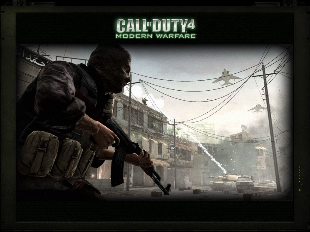 City Point Productions: Call of Duty Modern Warfare 4 Official Wallpapers