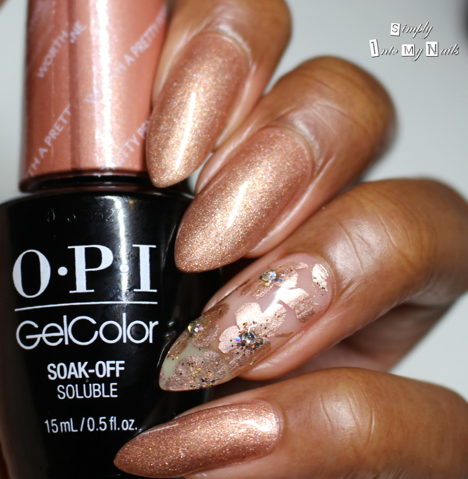OPI GelColor - Worth A Pretty Penne | Simply Into My NAILS