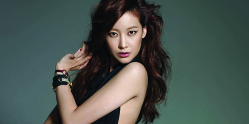 Foto Oh Yeon Seo di Cosmopolitan.